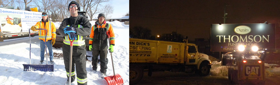 Ploughing - Hauling - Shovelling - Ice Control - Sanding - Salting  - Call John for Details at 204 291.7778